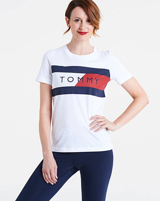 a420eaf7f8813d Tommy Hilfiger Elenor Crew Neck Tee