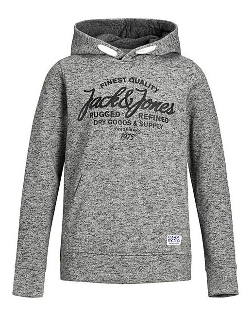 161d491e5f08 Jack & Jones Boys Logo Overhead Hoodie | Oxendales