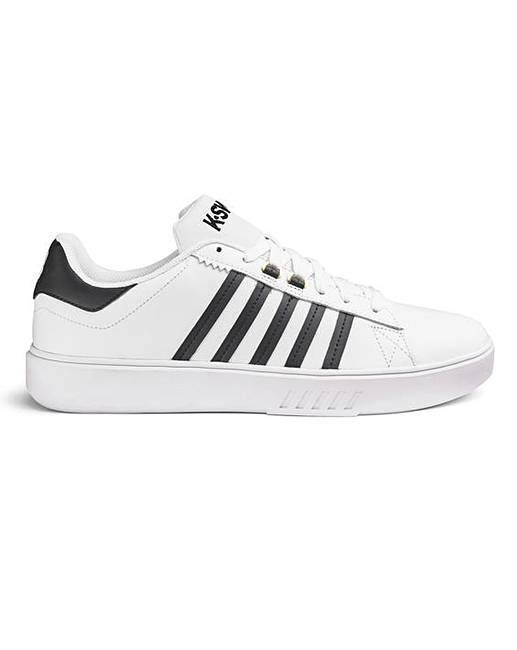 K Swiss Mens Pershing Court Cmf Trainers by K Swiss