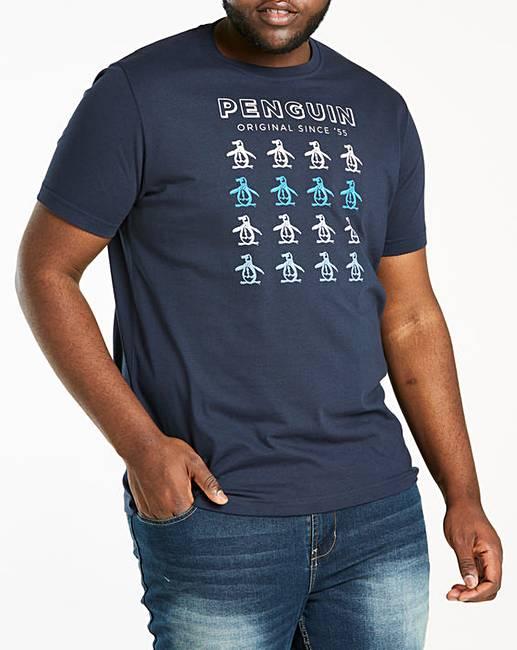 fa1c8e24180 Original Penguin Pete Print T-Shirt | Jacamo