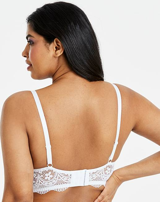 0e1f8512a7cb95 Pretty Secrets Lottie Lace White Midi Wired Bralette. Click to view  Pretty  Secrets  products. 6 people have looked at this in the last couple of hours.