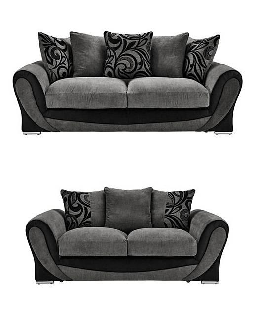 Renata Three Plus Two Seater Sofa