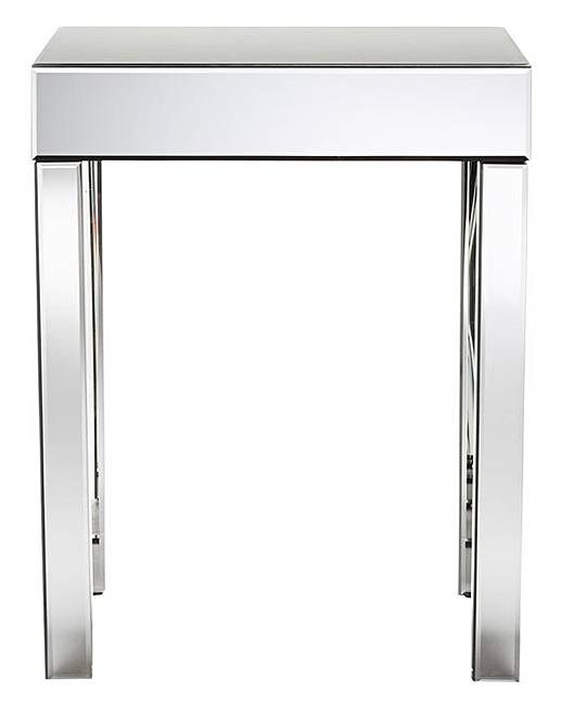 Monaco Mirrored Side Table