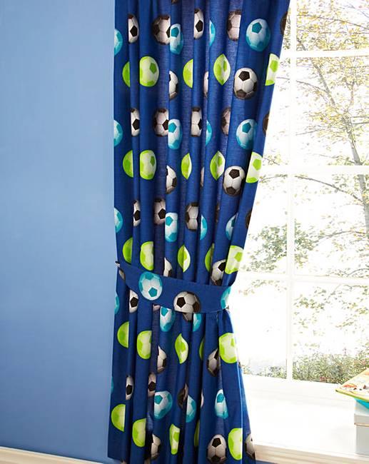 Home & Garden Useful Next Football Curtains Curtains, Drapes & Valances