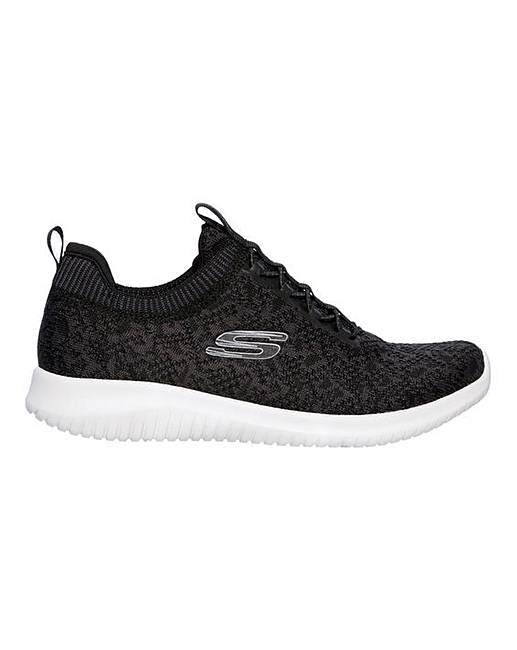 56be014db4c68 Skechers Ultra Flex Lace Up Trainers
