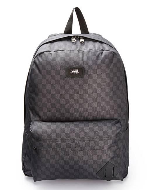 f416c9377 Vans Old Skool II Checker Backpack | Jacamo