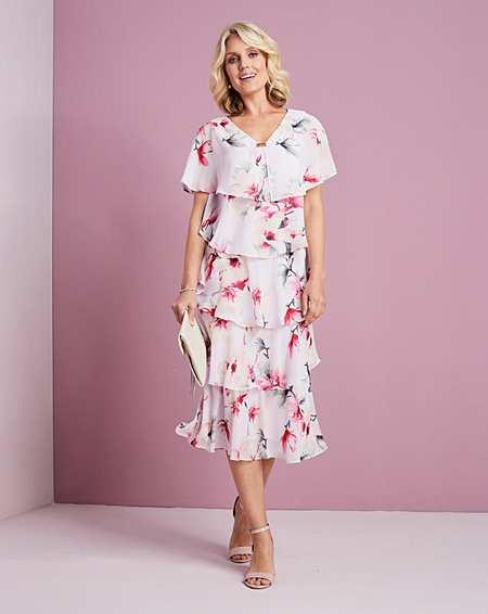 ca622c50e0a2 Nightingales Tiered Dress