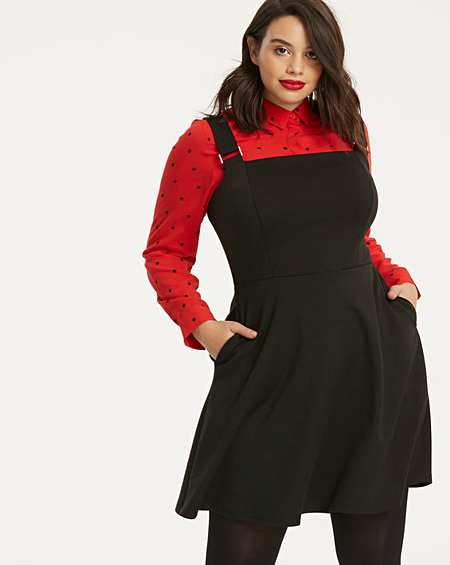 enjoy bottom price quality and quantity assured competitive price Size 14 | Pinafore | Dresses | Fashion | Simply Be