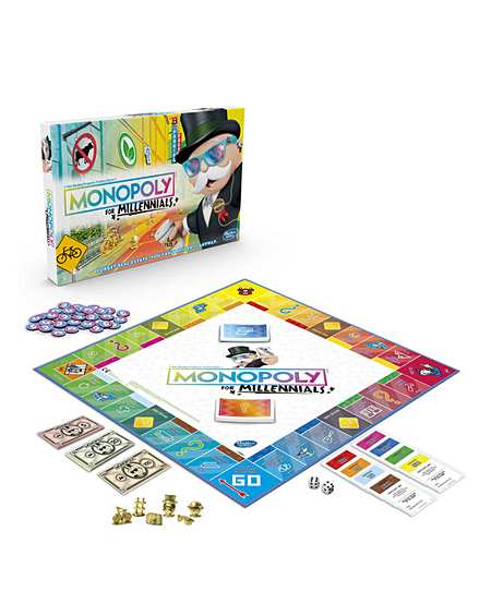 Monopoly   Board Games & Puzzles   Toys   Kids & Toys   J D