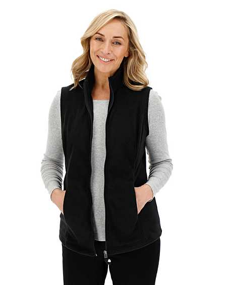 Womens Sherpa Collar Toggle Fleece JD Williams