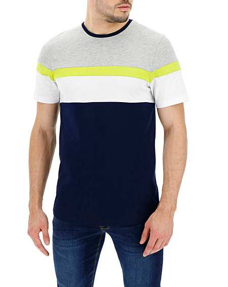 Men's T Shirts Printed, Plain & Longer Tees | Jacamo