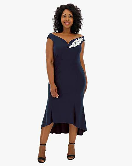 1 Star Or More Bodycon Wedding Guest Dresses Womens J D