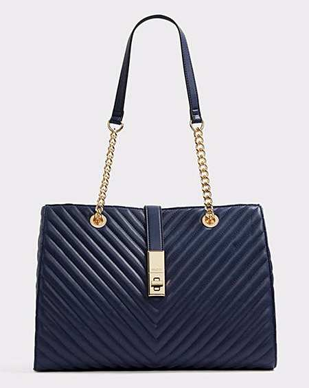 98ebb38ecff Aldo Guilted Shopper Bag