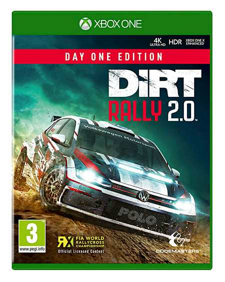 Dirt Rally 2 0 Day One Edition - Xbox