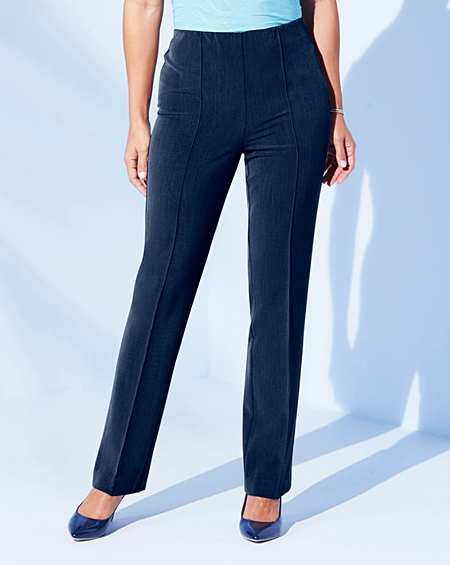 9ccce2dd997 Pull-On Comfort-Fit Trousers Short