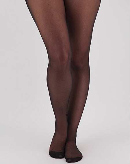 UK Sizes 3-5 or 6-8 Black Lace Footsie Foot Socks Tights PRETTY POLLY