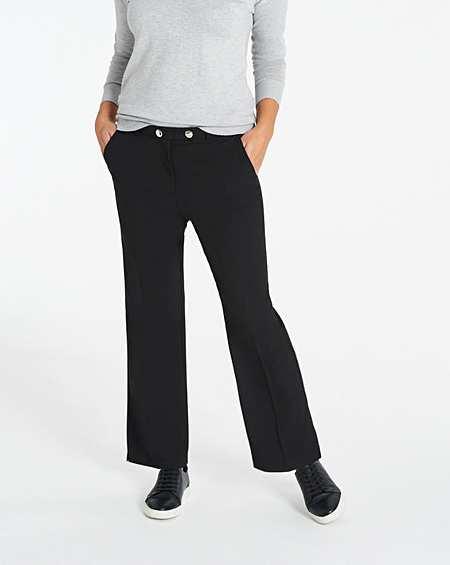 Womens Cotton Sateen Tailored Trouser JD Williams