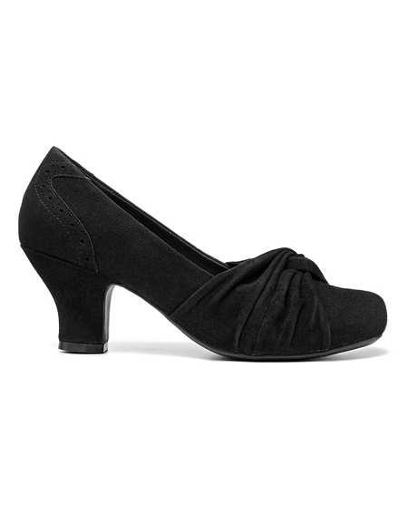 Hotter Amethyst Wide Fit Court Shoe | J