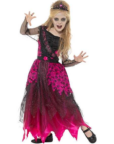 SALE Dark Fairy Girls Evil Halloween Childrens Wicked Fancy Dress Costume