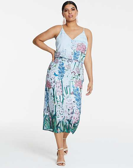 3b1a22e3d1c Oasis NHM Placement Midi Dress