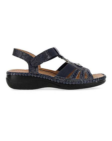 Cushion Walk Strappy Sandals EEEEE Fit