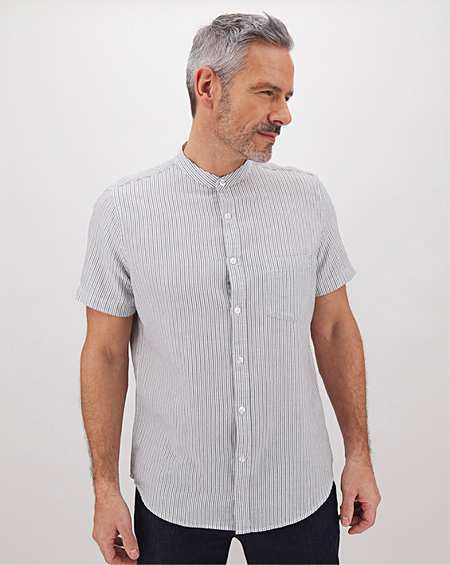 Mens Premier Man Short Sleeve Outdoor Shirt JD Williams