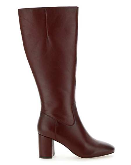 super cute amazing selection classic fit Wide Fitting Knee High Boots   Curvy Calf   Simply Be