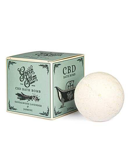 Green Stem CBD Bath Bomb 100mg