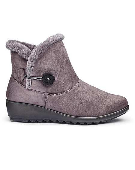 b7444e96e20 Cushion Walk Ankle Boots E Fit