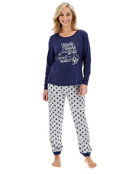 Plus Size Christmas Pajamas.Women S Plus Size Pyjamas Pjs Sets J D Williams