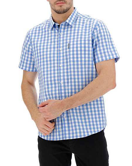 Men Short Sleeve Hawaiian Pattern Button Pocket Casual Polo Shirt EA9