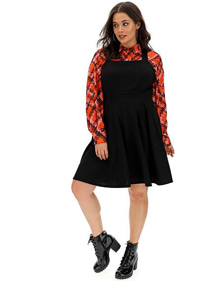 order shop laest technology Office Wear | Pinafore | Dresses | Fashion | Simply Be