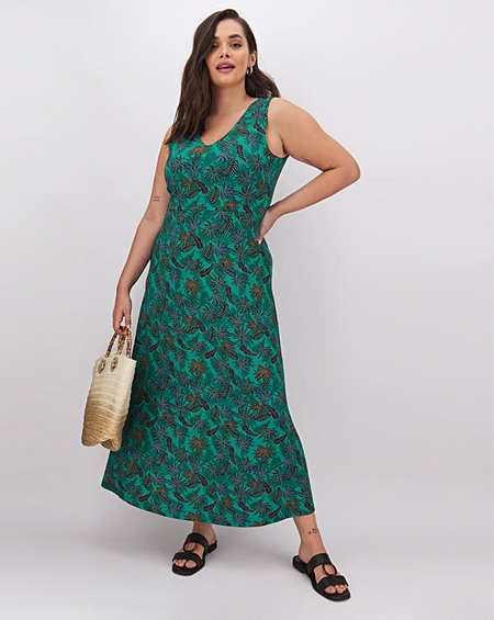 Simply Be Lace Tunic Dress Teal Green Size 12,16 Rrp £49