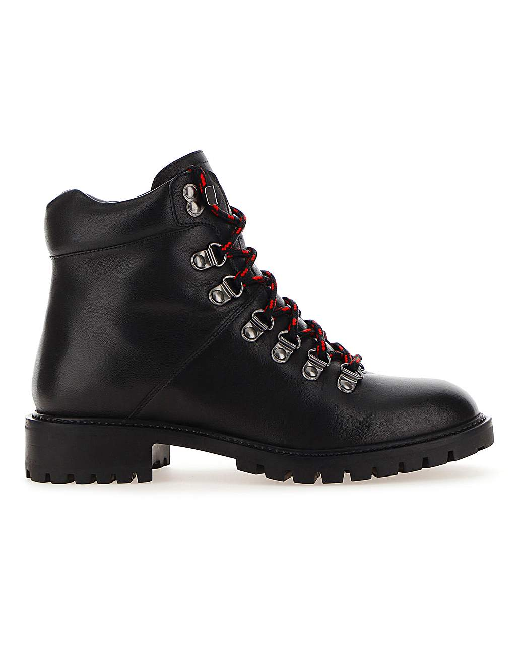 Leather Hiker Style Boots