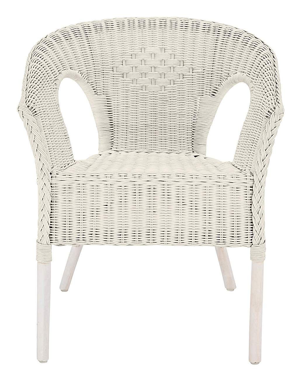 Wicker Chair J D Williams