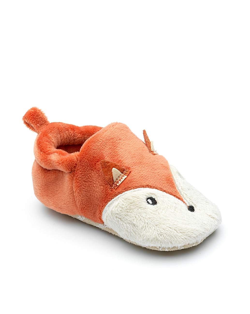 Chipmunks rust fox slipper
