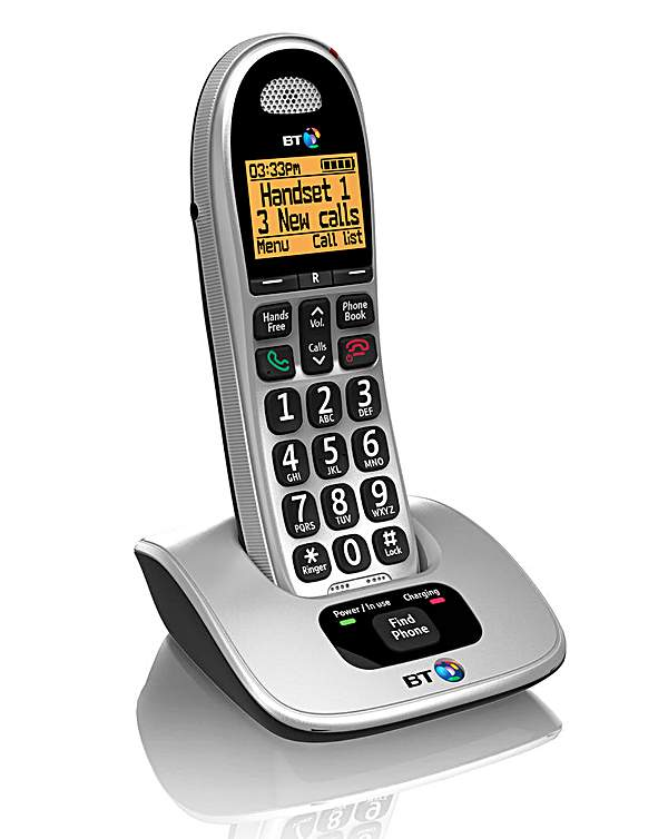 BT 4000 Cordless Big Button Phone