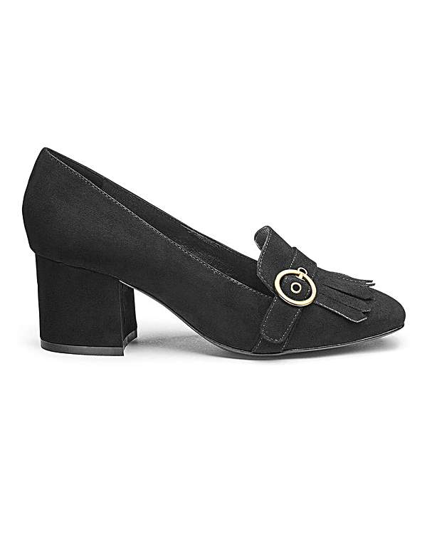 Womens Heavenly Soles Leather Shoes