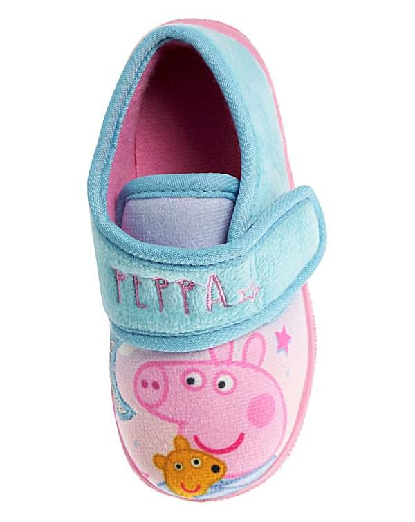 Peppa Pig Slippers Peppa Pig George Childrens Slipper Shoes Lounge Slippers