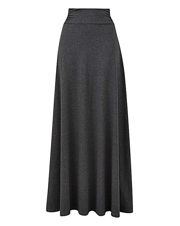 latest trends of 2019 complete range of articles new high quality Stretch Jersey Maxi Skirt