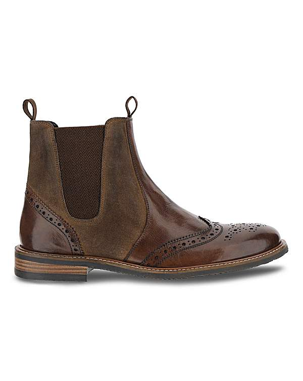 new style of 2019 official images get cheap Joe Browns Rugged Leather Chelsea Boot