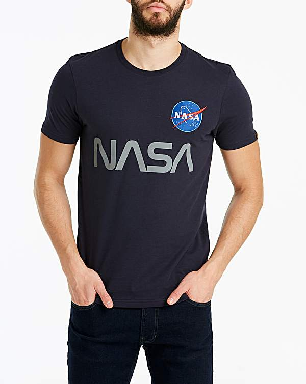 huge discount e51d4 31eb7 Alpha Industries Nasa T-Shirt