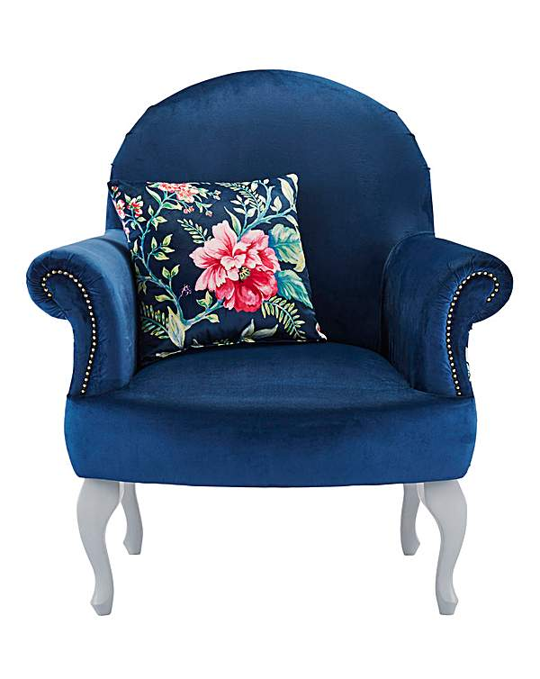 Terrific Joe Browns Floral Accent Chair Gmtry Best Dining Table And Chair Ideas Images Gmtryco