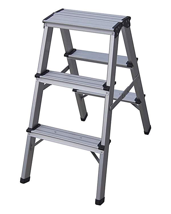 Magnificent Folding 3 Step Ladder Gmtry Best Dining Table And Chair Ideas Images Gmtryco