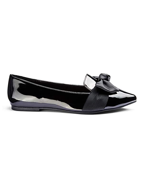 really cheap super specials buy good Trixi Bow Flats Wide Fit