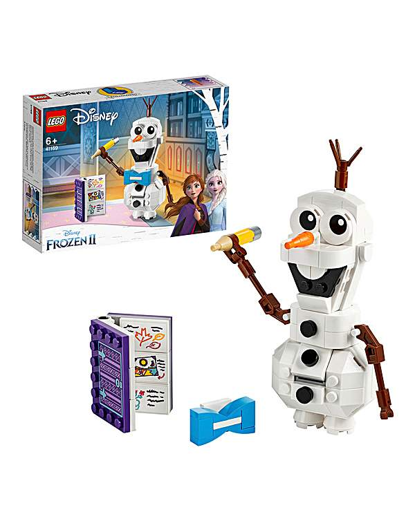 Lego Letter To Santa With Disney Frozen Olaf Post Box Table Decoration Ornament