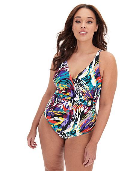 MAGISCULPT Wrapover Swimsuit