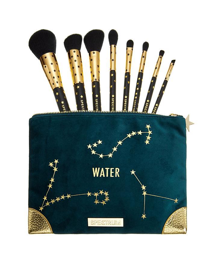Spectrum Zodiac Water 8 Makeup Brushes & Bag Set