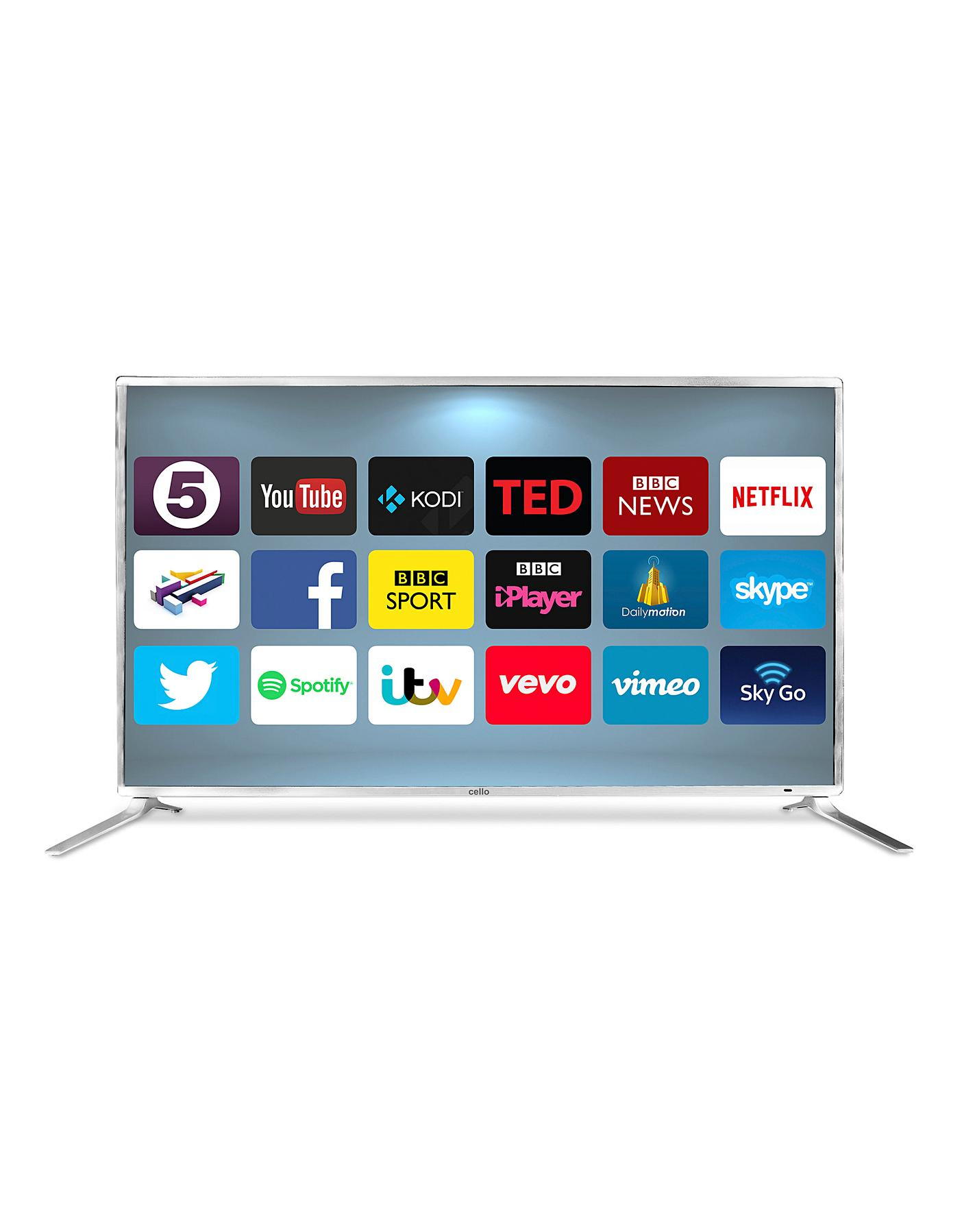 CELLO 65in Smart Android 4K TV | Home Beauty & Gift Shop