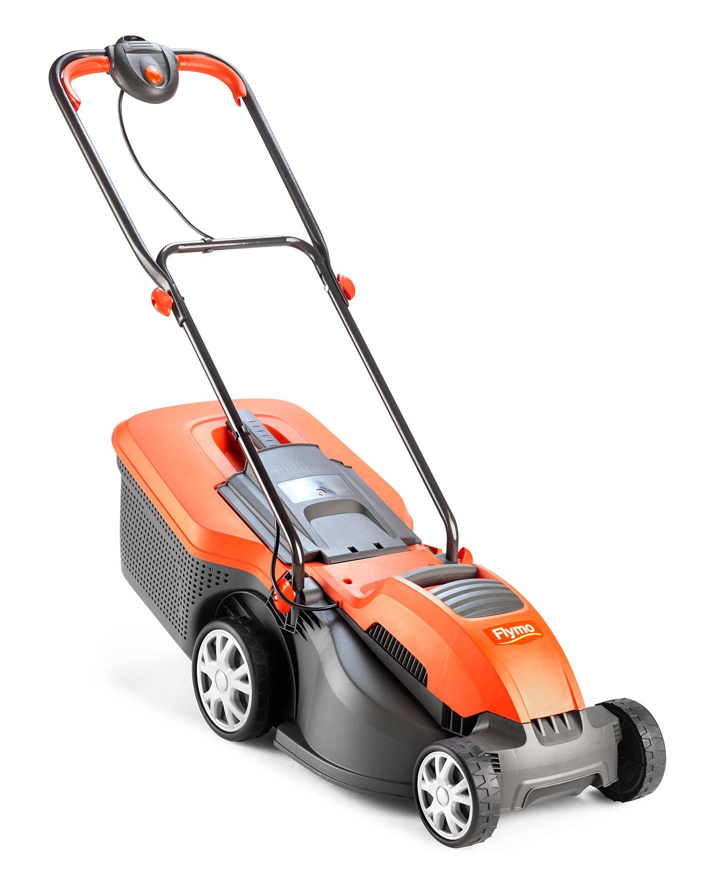 1500 W Flymo Speedi-Mo 360C Electric Wheeled Lawn Mower Cutting Width 36 cm